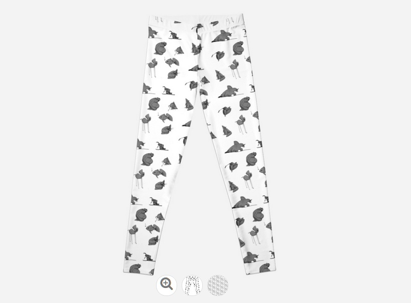 Strange creatures leggings