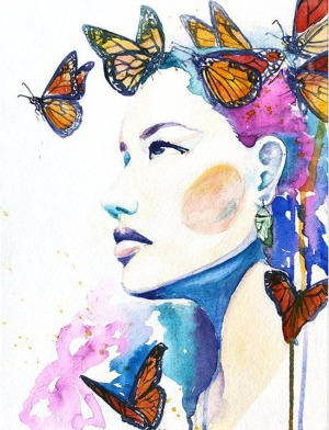 butterfly-woman-watercolor-painting-christina
